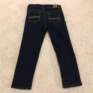 Jordache skinny straight leg jeans girls sz 5T EUC